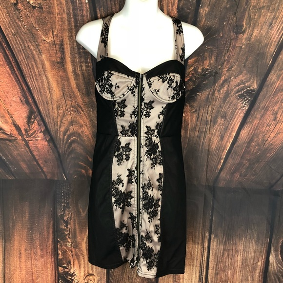 Topshop Dresses & Skirts - TopShop Pinup Corset Style Dress Size 6